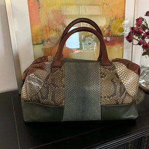 Celine python bag